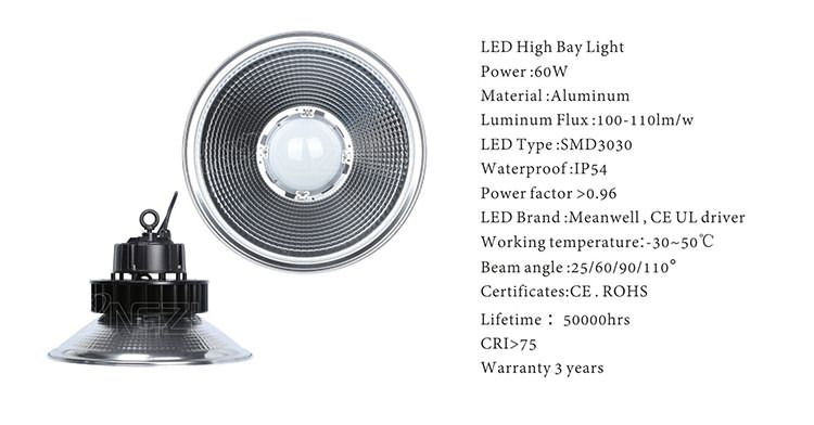 60w highbay led lights