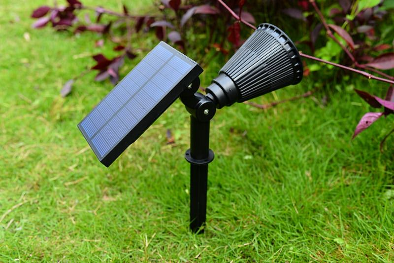 2w solar panel underground garden light