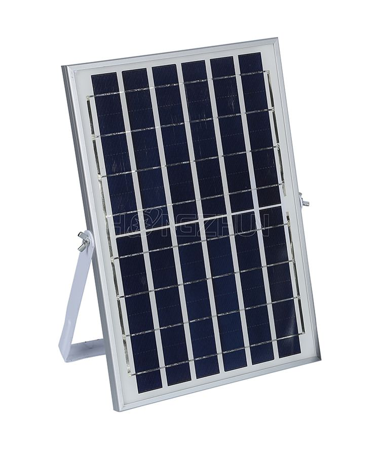 10w solar floodlight