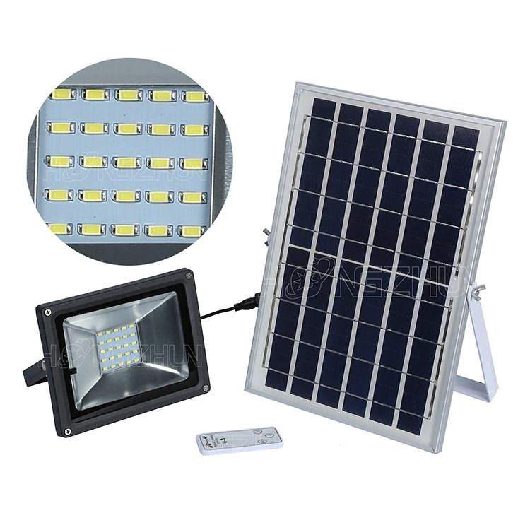 10w solar floodlight smd