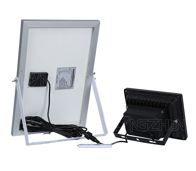10w solar floodlight with remote