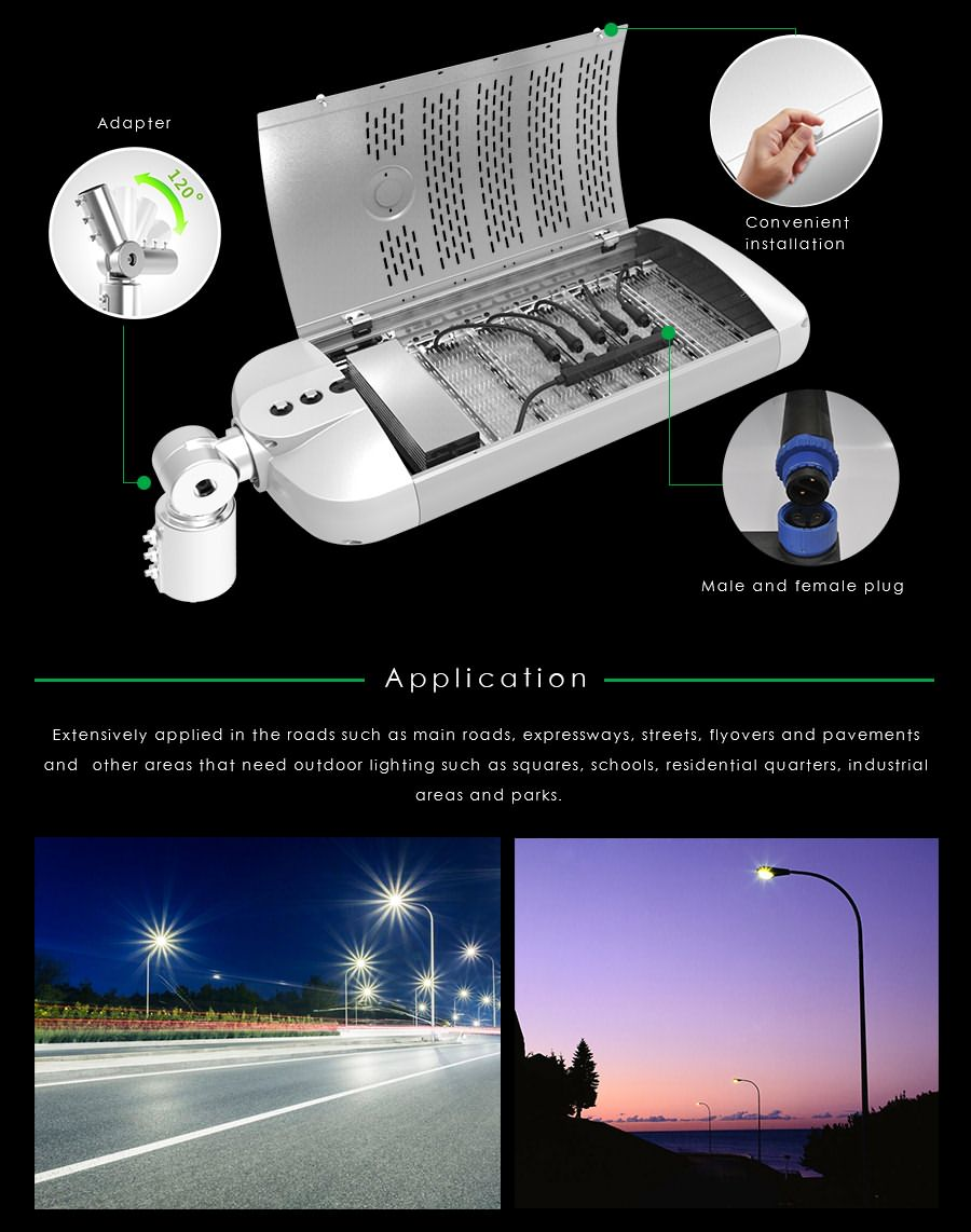 150w street led lamp application