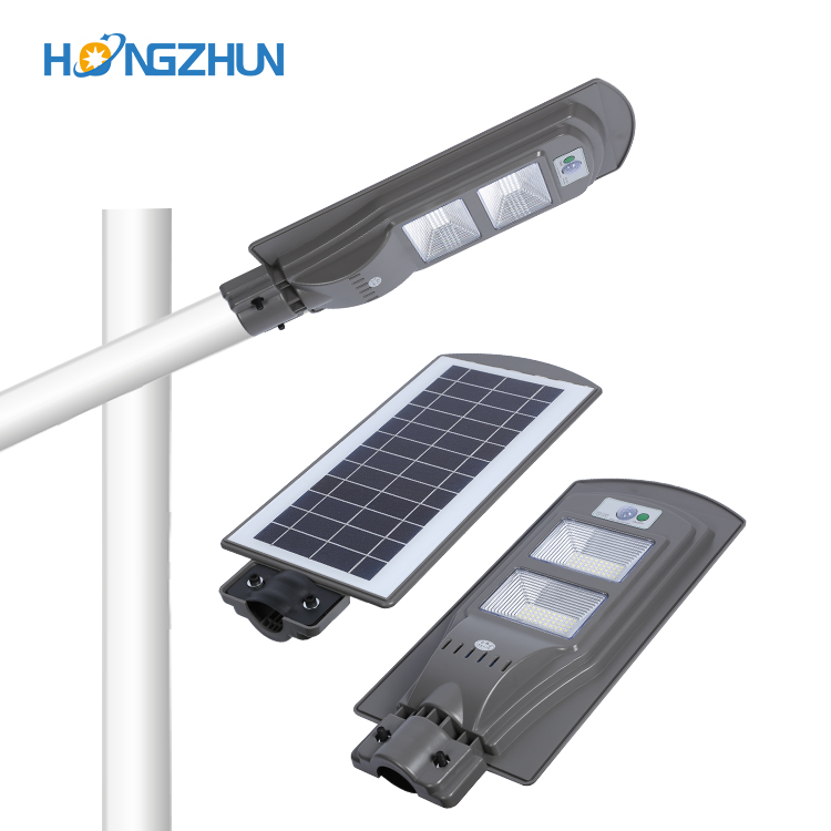 Hot 40w led solar street light all in one solar lamps