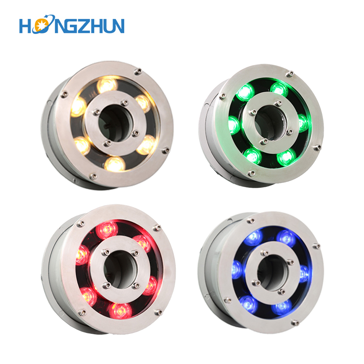 Hot Sale Led fountain light 6w 9w 12w 18w Led Pool Light Free AC12V AC24V Underwater Lights Fountains Waterproof Ip68