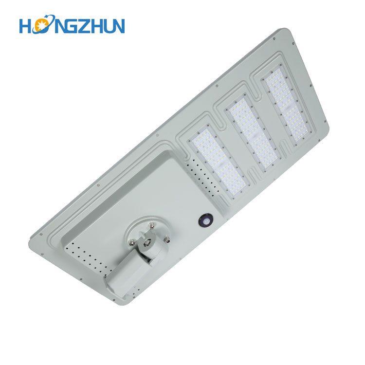 Aluminum housing IP65 waterproof outdoor 40w 60w 120w 180w automatic solar street light