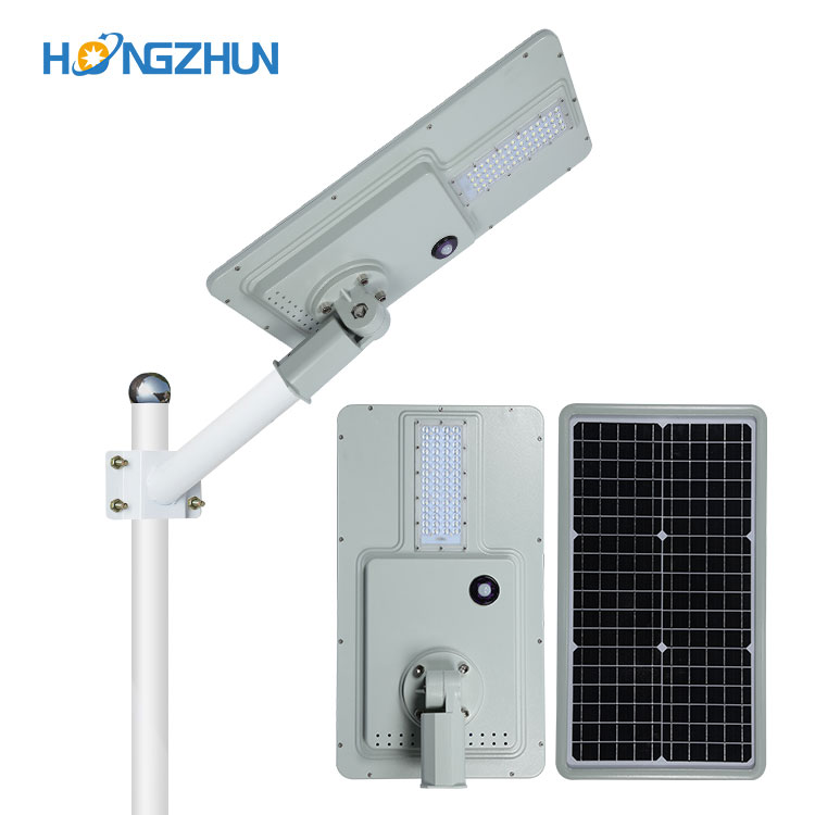 High power Aluminum IP65 waterproof outdoor 40w 60w 120w 180w integrated solar street light