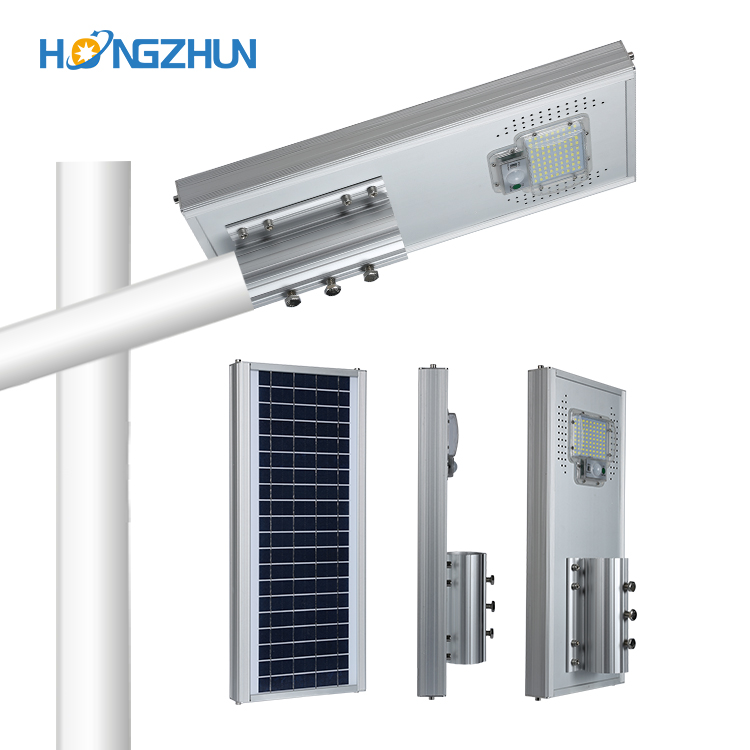 Energy Saving High Quality Cost-effective and high brightness solar street lighting with solar panel and battery