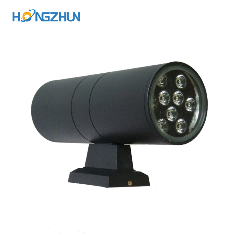 Good quality aluminum RGB color 3 5 6 7 9 12 15 18watt outdoor IP65 COB led wall light